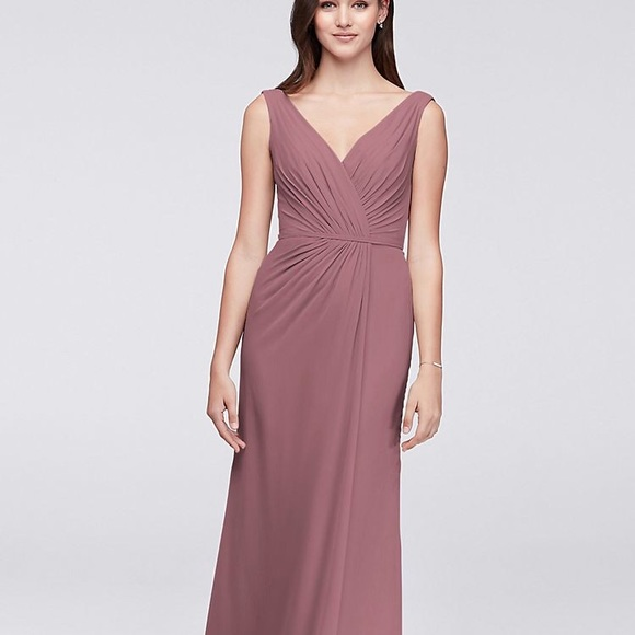 f010597698e David s Bridal Dresses   Skirts - Size 10 mauve bridesmaid dress